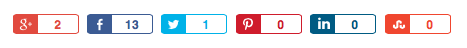 Custom Social Media Buttons for WordPress