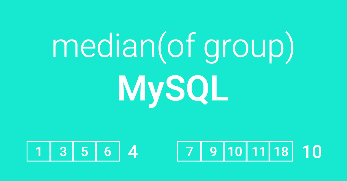 Median of Group in MySQL