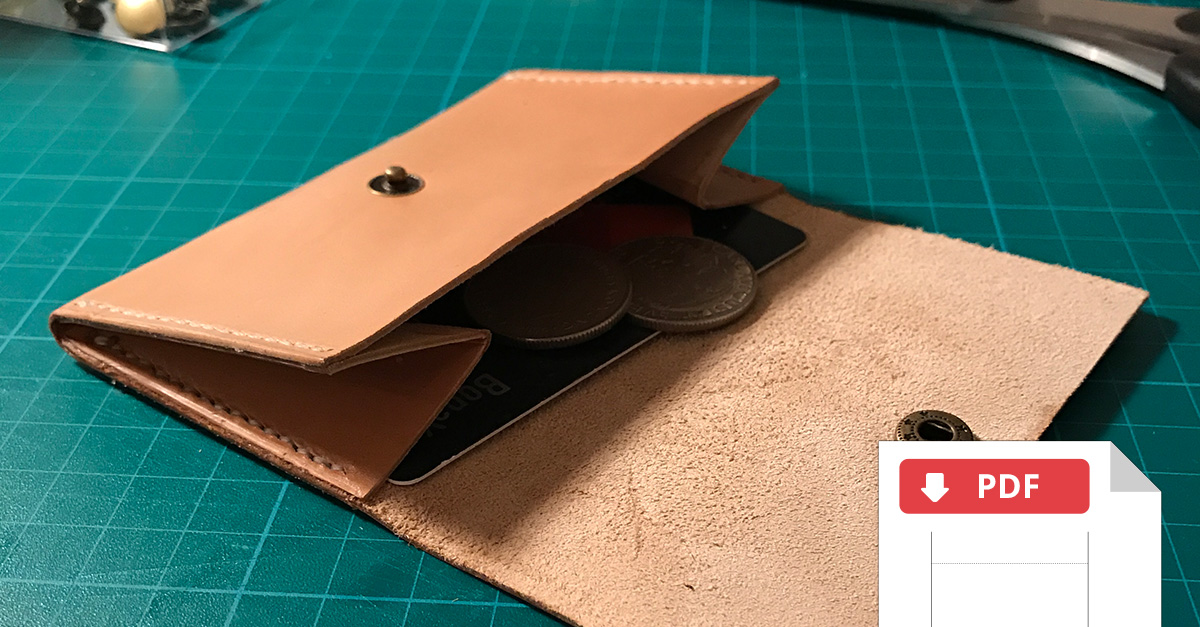 How To Hand Stitch A Leather Coin Wallet